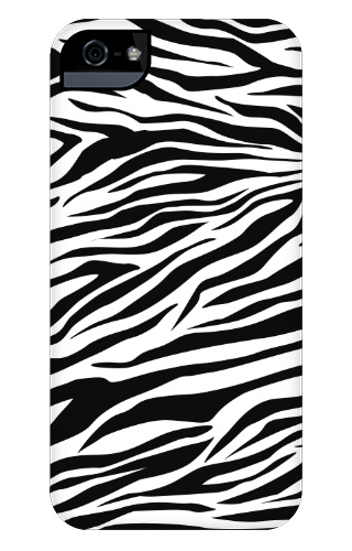 Zebra Stripes iPhone 5 and 5s Tough Case
