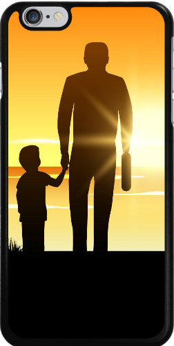 Father Sunset iPhone 6 Plus Thinshield