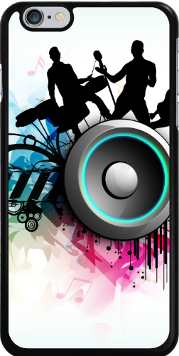 Band Jam Graphic iPhone 6 Plus Thinshield