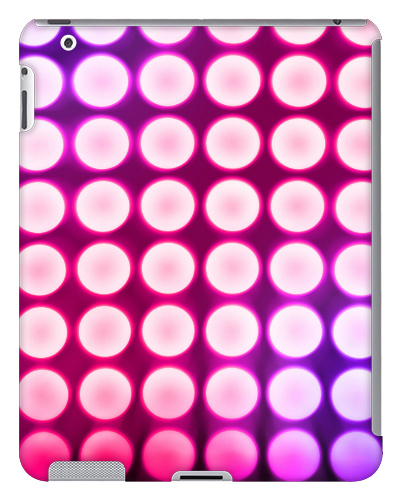 Pink Concert Lights iPad 2 and 3 Case