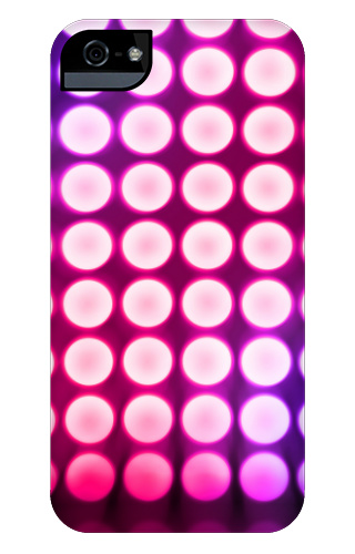 Pink Concert Lights iPhone 5 and 5s Tough Case