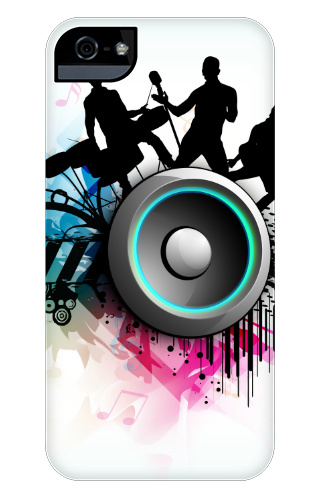 Band Jam Graphic iPhone 5 and 5s Tough Case