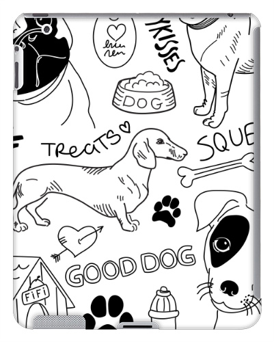 Good Dog iPad 2 and 3 Case