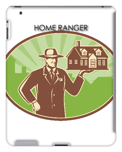 HOME RANGER REAL ESTATE iPad 2 and 3 Case