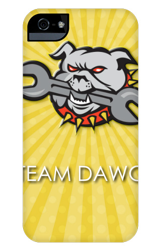 Team Dawg iPhone 5 and 5s Tough Case