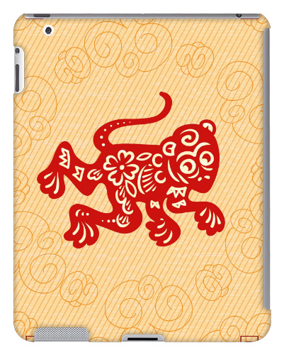 Red Monkey iPad 2 and 3 Case