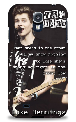 Sian_Luke Hemmings Samsung Galaxy S4 Case