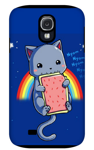 Cute Nyan Cat Samsung Galaxy S4 Tough Case