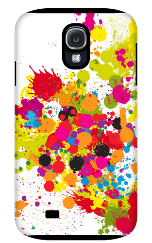 Paint Splatter Samsung Galaxy S4 Tough Case