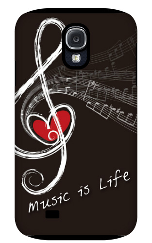 Music is Life Samsung Galaxy S4 Tough Case