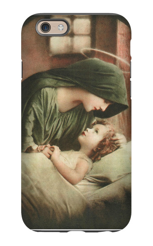 Blessed Mother iPhone 6 Tough Case