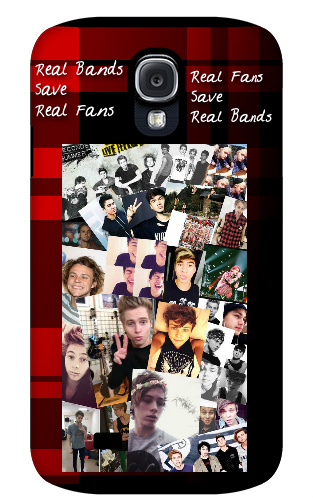 5 seconds of summer Real bands save Samsung Galaxy S4 Tough Case