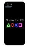 the ps4 gamer case iPhone 5 and 5s Tough Case