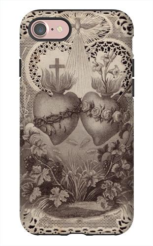 7 Sac Heart/Immac Heart iPhone 7 Tough Case