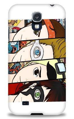 5sos cartoon Samsung Galaxy S4 Case