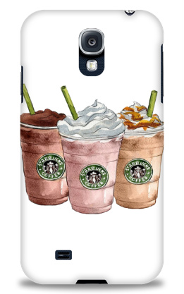 starbucks delight Samsung Galaxy S4 Case