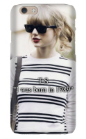 Taylor Swift born in 1989 iPhone 6 Snap On Case Matte