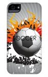 Soccer iPhone 5 and 5s Tough Case