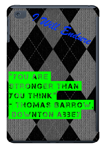 Some Inspiring Words iPad Mini Matte Case