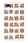 Monkey Emoji iPhone 4 Snap On Case