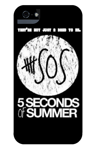 5 Seconds of Summer They're Not Jus iPhone 5 and 5s Tough Case