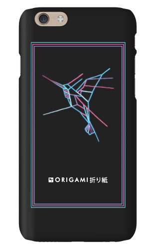 Origami v1 iPhone 6S Snap On Case