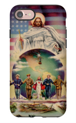 7 heavy duy prince of peace iPhone 7 Tough Case