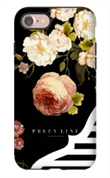 Wild-Peony-1138x1831 iPhone 7 Tough Case Matte