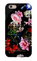 BLACK LACE FLOWER FINAL iPhone 6 Tough Case Matte