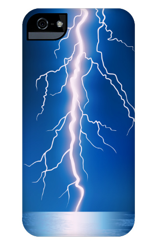 pretty nice 0f60a 96f6a Lightning Bolt iPhone 5 and 5s Tough Case